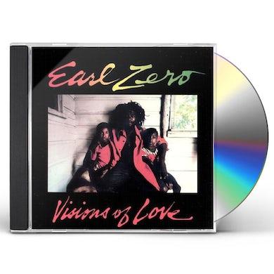 Earl Zero VISIONS OF LOVE CD