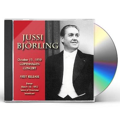 Jussi Bjorling IN COPENHAGEN 1959 CD