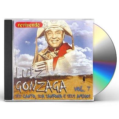 SEU CANTO SUA SANFONA E SEUS AMIGOS 7 CD