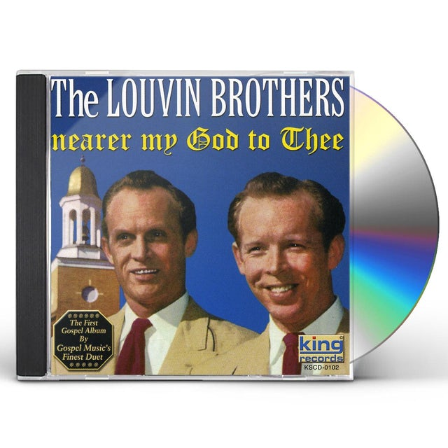 Louvin Brothers NEARER MY GOD TO THEE CD