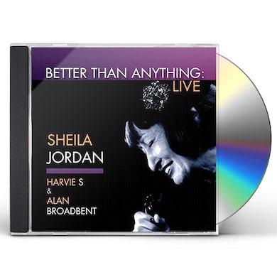Sheila Jordan BETTER THAN ANYTHING CD