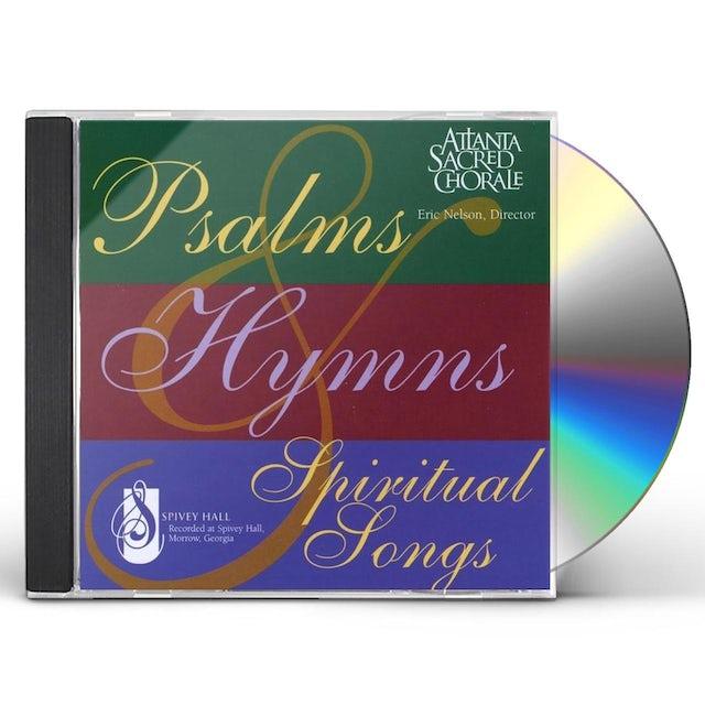 Atlanta Sacred Chorale PSALMSHYMNS& SPIRITUAL SONGS CD