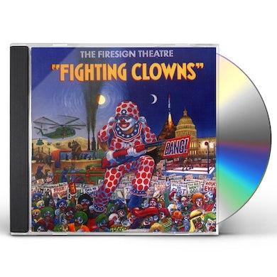 Firesign Theatre FIGHTING CLOWNS CD