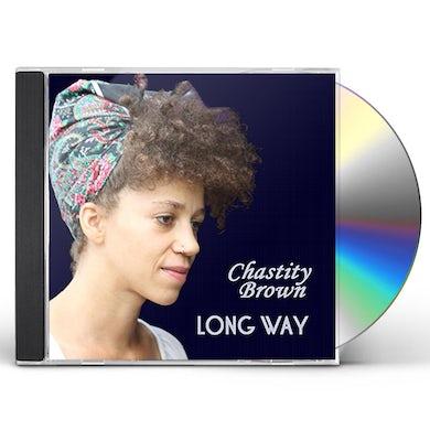 Chastity Brown LONG WAY CD