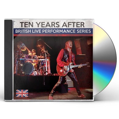Ten Years After BRITISH LIVE PERFORMANCE SERIES CD