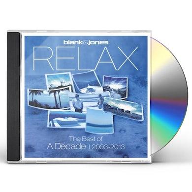 Blank & Jones RELAX: BEST OF A DECADE 2003 - 2013 CD