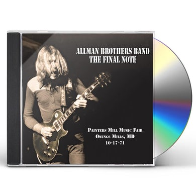 The Allman Brothers Band  The Final Note CD