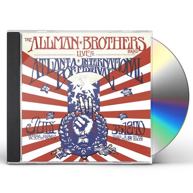 The Allman Brothers Band  Live At The Atlanta International Pop Fe CD