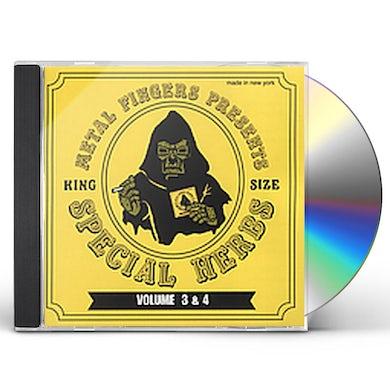 MF DOOM SPECIAL HERBS 3 & 4 CD