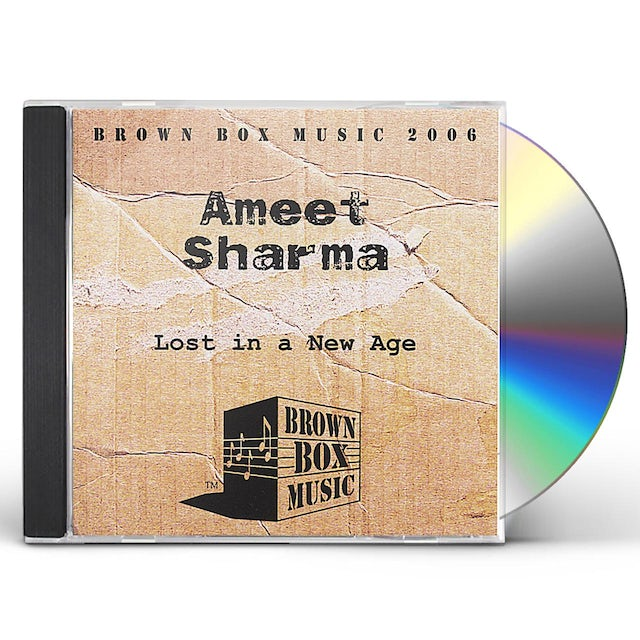 Ameet Sharma LOST IN A NEW AGE CD