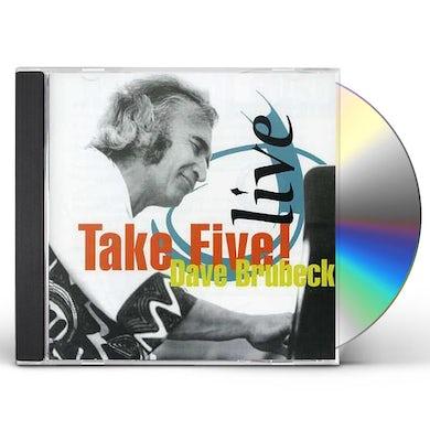 Dave Brubeck LIVE TAKE FIVE CD