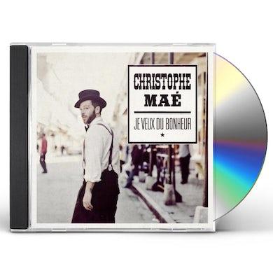 Christophe Mae JE VEUX DU BONHEUR CD