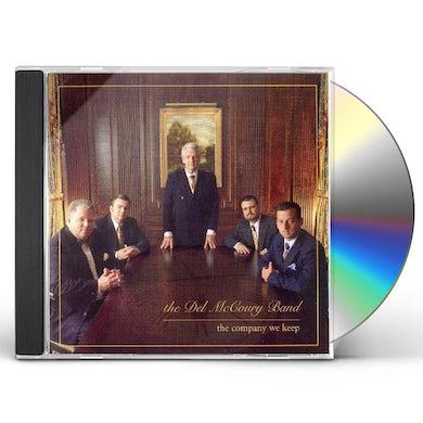 Del Mccoury COMPANY WE KEEP CD