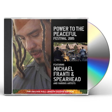 Michael Franti & Spearhead POWER TO THE PEACEFUL FESTIVAL 2005 CD