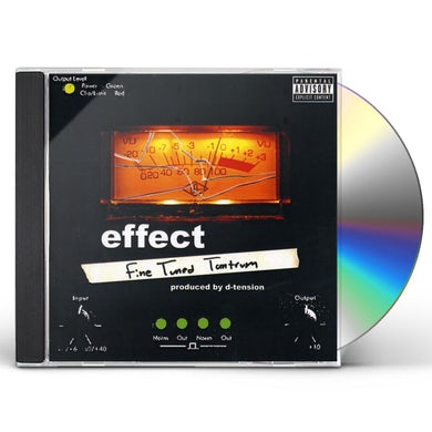 Effect FINE TUNED TANTRUM CD