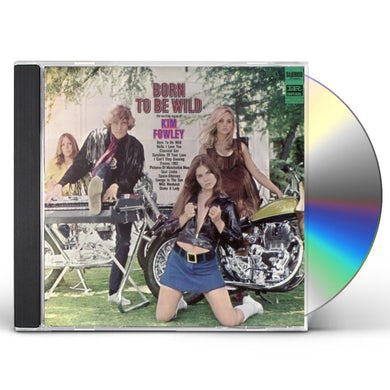 Kim Fowley BORN TO BE WILD CD