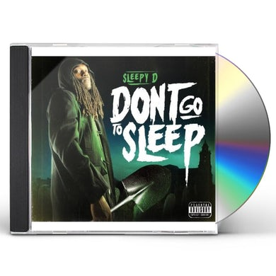 Sleepy D DON'T GO TO SLEEP CD