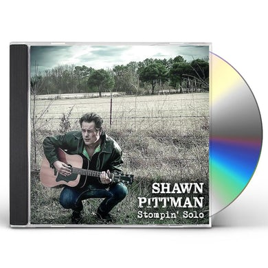 Shawn Pittman STOMPIN'SOLO CD