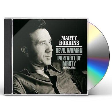 Marty Robbins DEVIL WOMAN / PORTRAIT OF MARTY CD