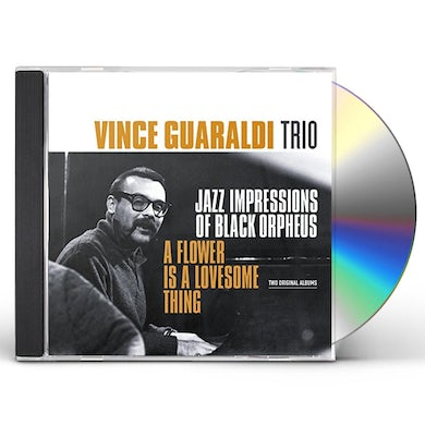 Vince Guaraldi JAZZ IMPRESSIONS OF BLACK ORPHEUS / FLOWER IS A CD