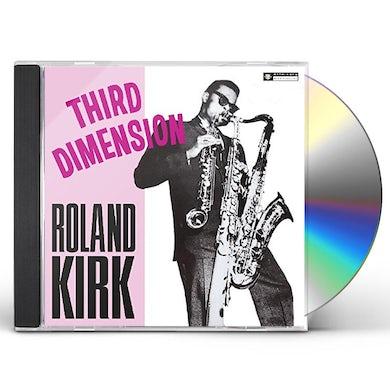 Roland Kirk THIRD DIMENSION CD