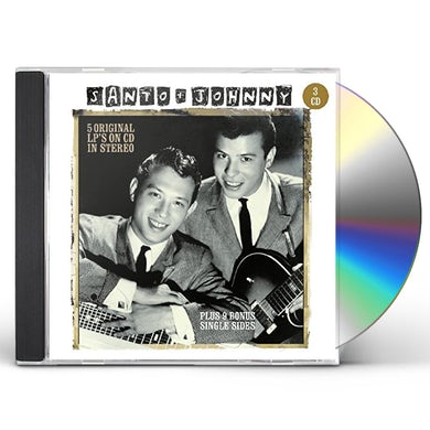 Santo & Johnny 5 ORIGINAL LPS ON CD CD