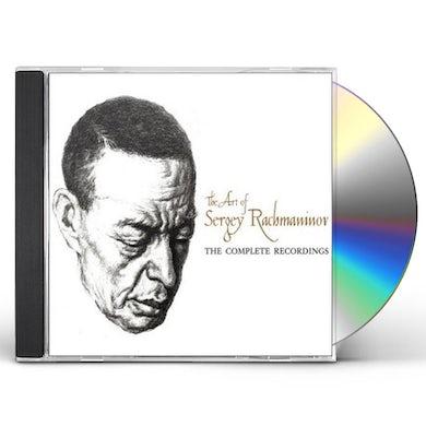 ART OF SERGEY RACHMANINOV CD