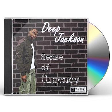 Deep Jackson SENSE OF URGENCY CD