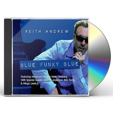 KEITH ANDREW BLUE FUNKY BLUE CD
