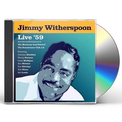 Jimmy Witherspoon LIVE 59 CD