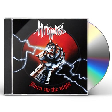 Kryptos BURN UP THE NIGHT CD