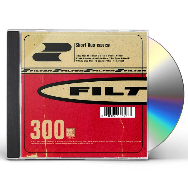 Filter SHORT BUS CD