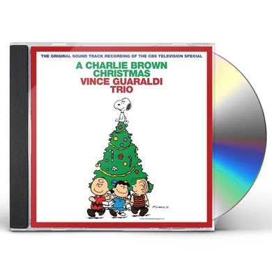 Vince Guaraldi CHARLIE BROWN CHRISTMAS CD