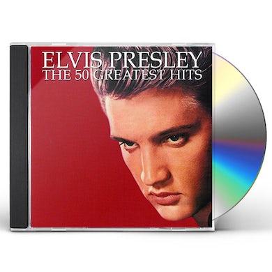 Elvis Presley 50 GREATEST HITS CD