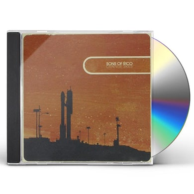 Sons Of Rico ORANGE SKIES CD