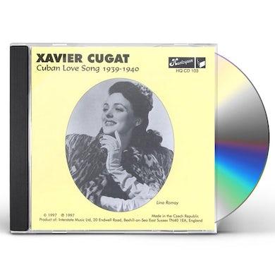 Xavier Cugat CUBAN LOVE SONG CD