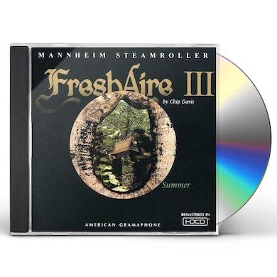 Mannheim Steamroller FRESH AIRE 3 CD