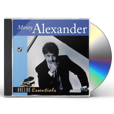 Monty Alexander BALLAD ESSENTIALS CD