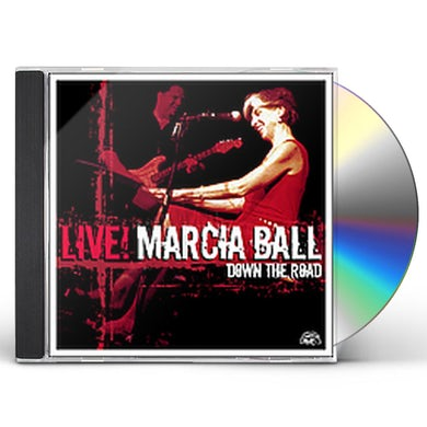 Marcia Ball LIVE: DOWN THE ROAD CD