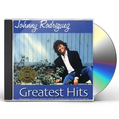 Johnny Rodriguez GREATEST HITS CD