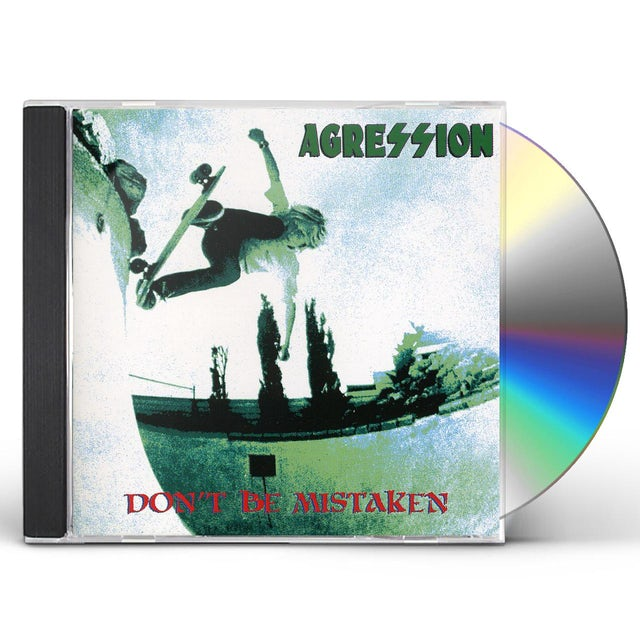 Agression DON'T BE MISTAKEN CD