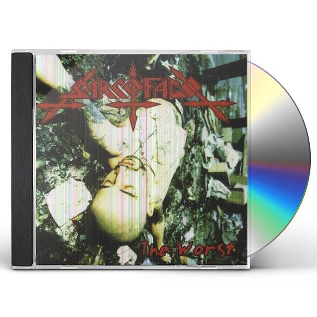 Sarcofago WORST / CRUST CD