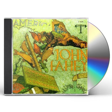 John Fahey AMERICA CD