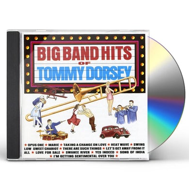 Tommy Dorsey BIG BAND HITS OF CD