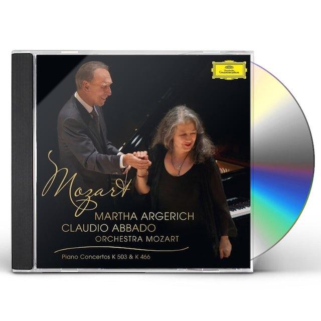 MOZART / ARGERICH / ABBADO / ORCHESTRA MOZART PIANO CONCERT CD
