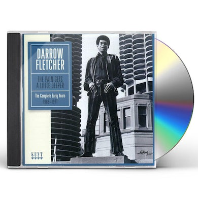 Darrow Fletcher PAIN GETS A LITTLE DEEPER CD