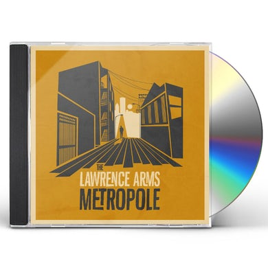 The Lawrence Arms METROPOLE CD