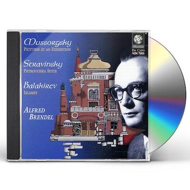 Alfred Brendel MUSSORGKSY STRAVINSKY BALAKIREV CD