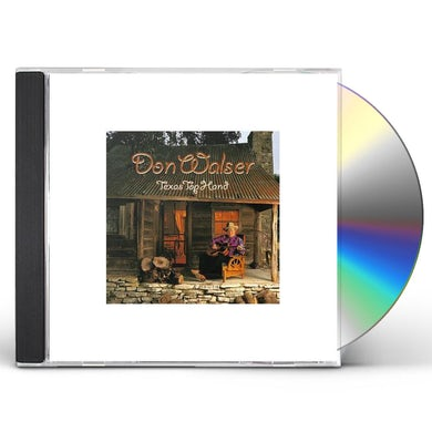 Don Walser TEXAS TOP HAND CD