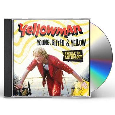 Yellowman YOUNG GIFTED & YELLOW CD